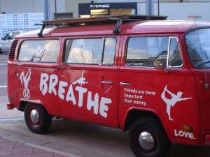 To tweet, you've gotta breathe.  To love, you've gotta breathe.  Twitter spreads Love too.